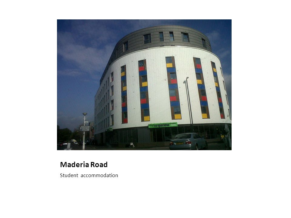 Maderia Road Student accommodation