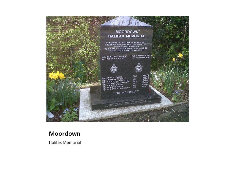 Moordown Halifax Memorial