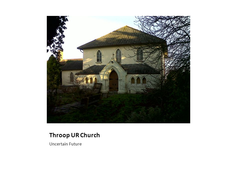 Throop UR Church Uncertain Future