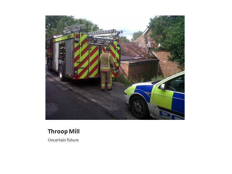 Throop Mill Uncertain future