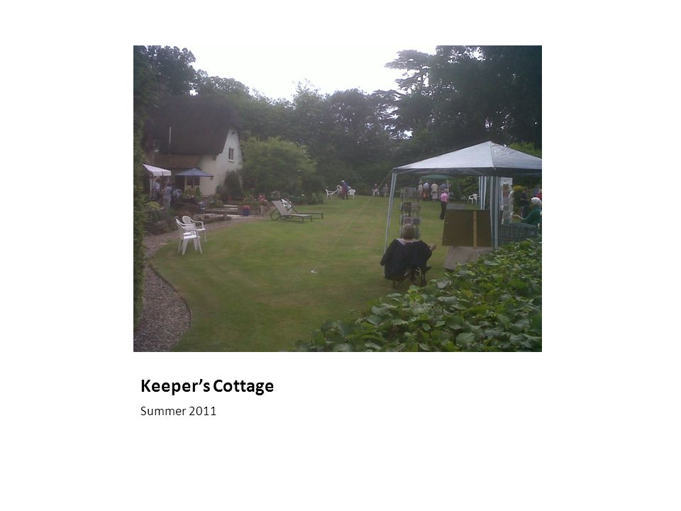 Keeper's Cottage Summer 2011