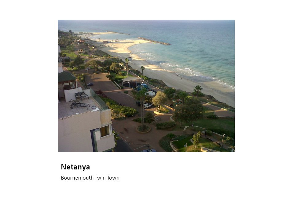 Netanya Bournemouth Twin Town