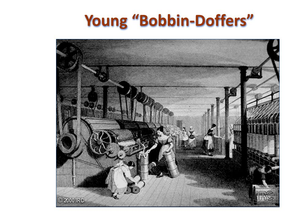 Young Bobbin-Doffers