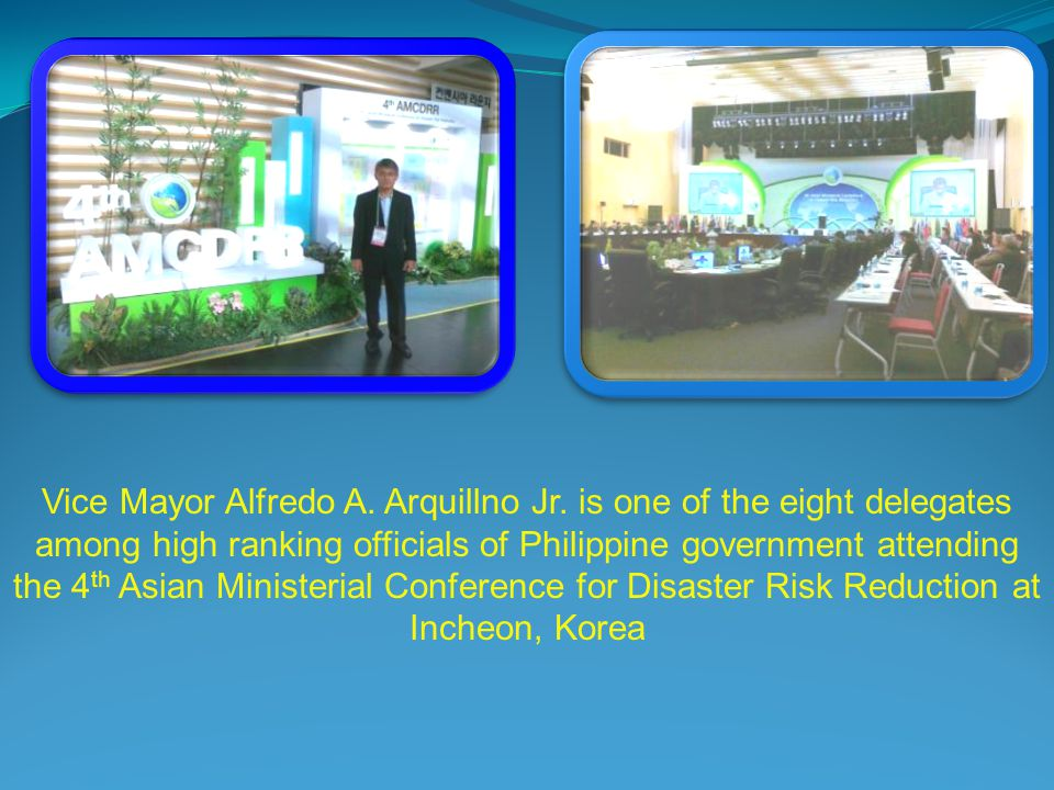Vice Mayor Alfredo A. Arquillno Jr.