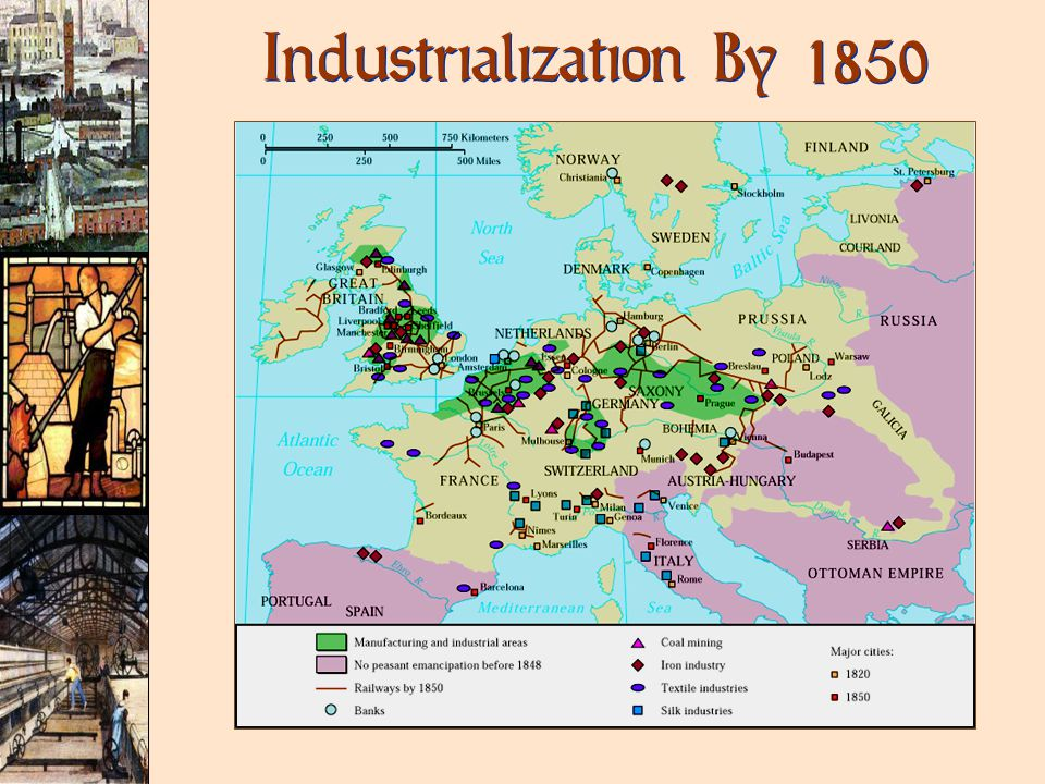 Industrialization By 1850