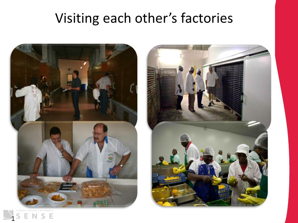 Visiting each other's factories 1