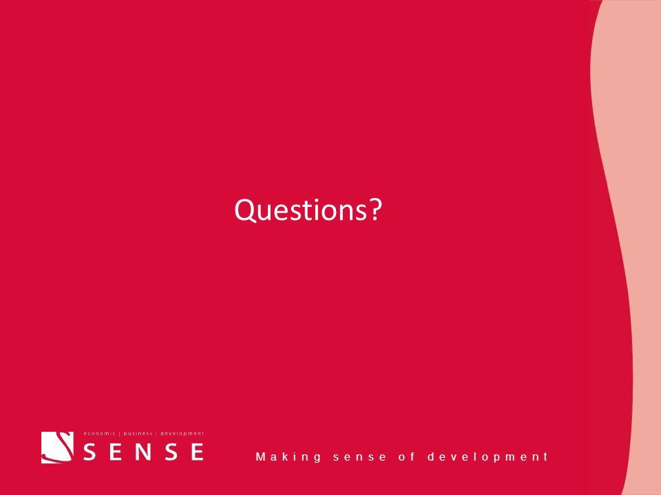 Making sense of development Questions?