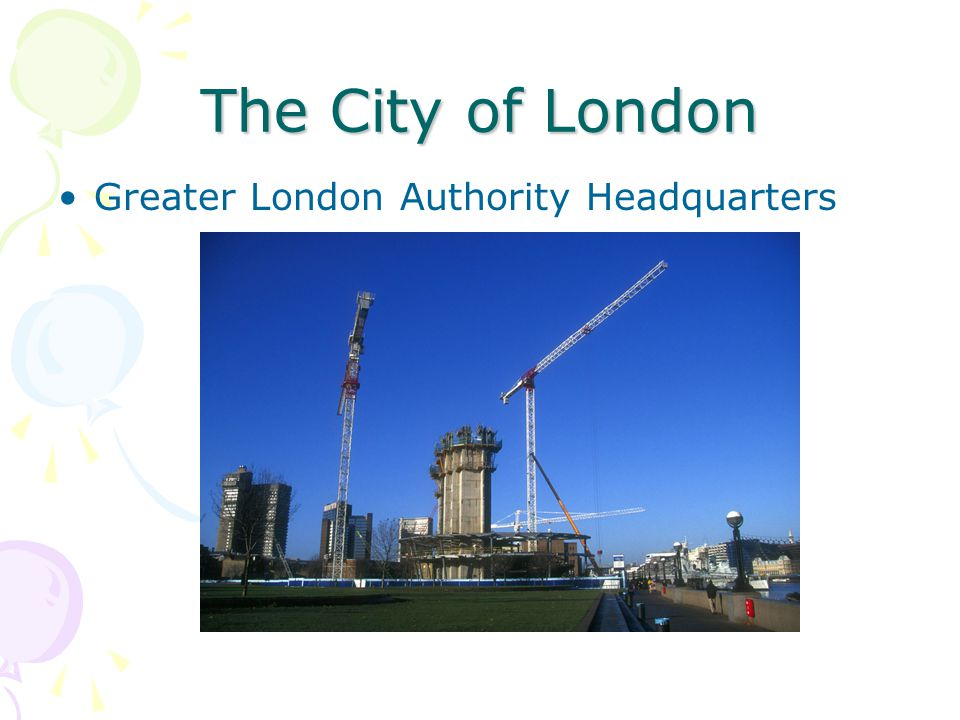 The City of London Greater London Authority Headquarters