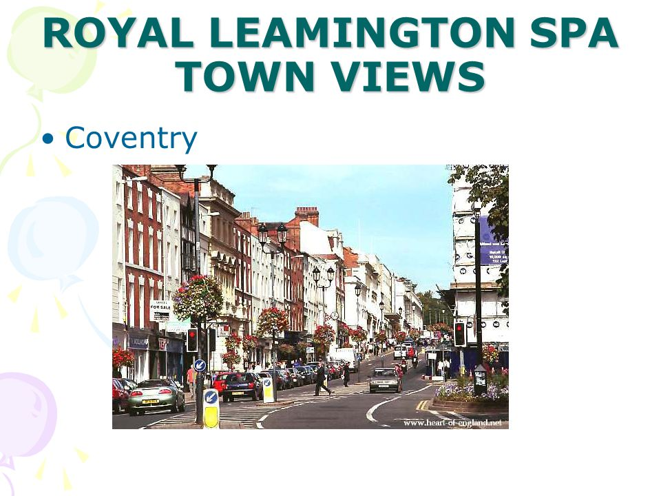 ROYAL LEAMINGTON SPA TOWN VIEWS Coventry