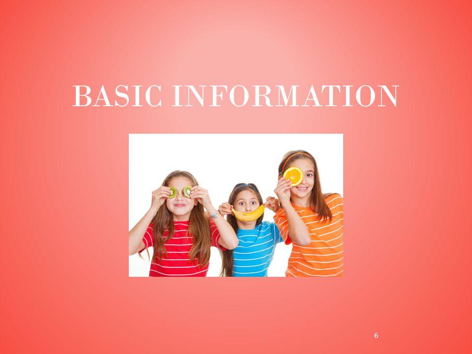 BASIC INFORMATION 6