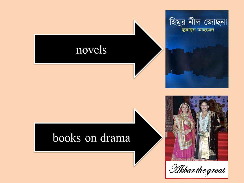 novels books on drama Akbar the great