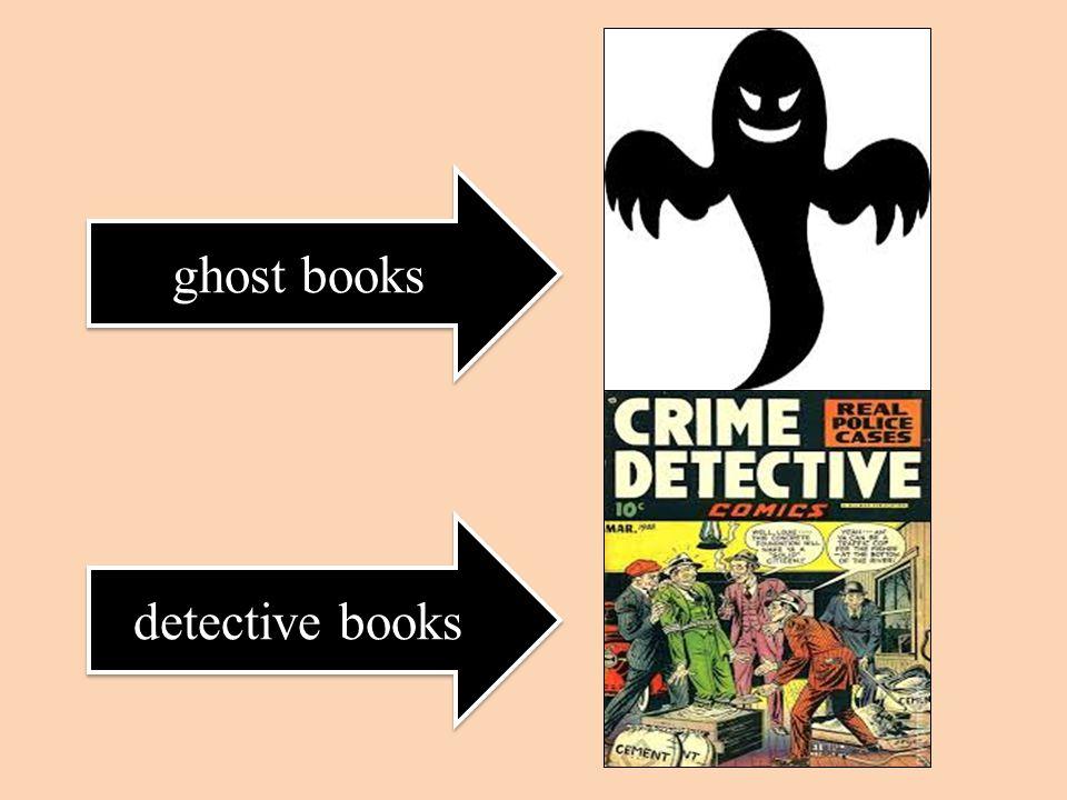 ghost books detective books