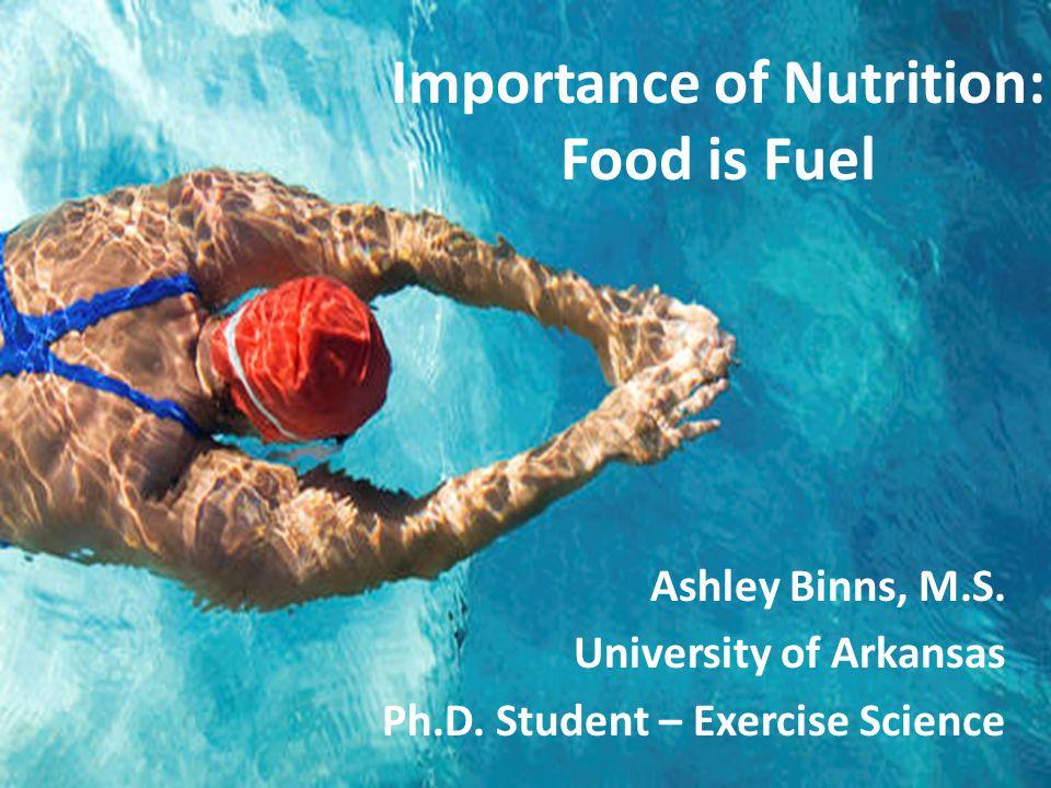 Ashley Binns, M.S. University of Arkansas Ph.D.