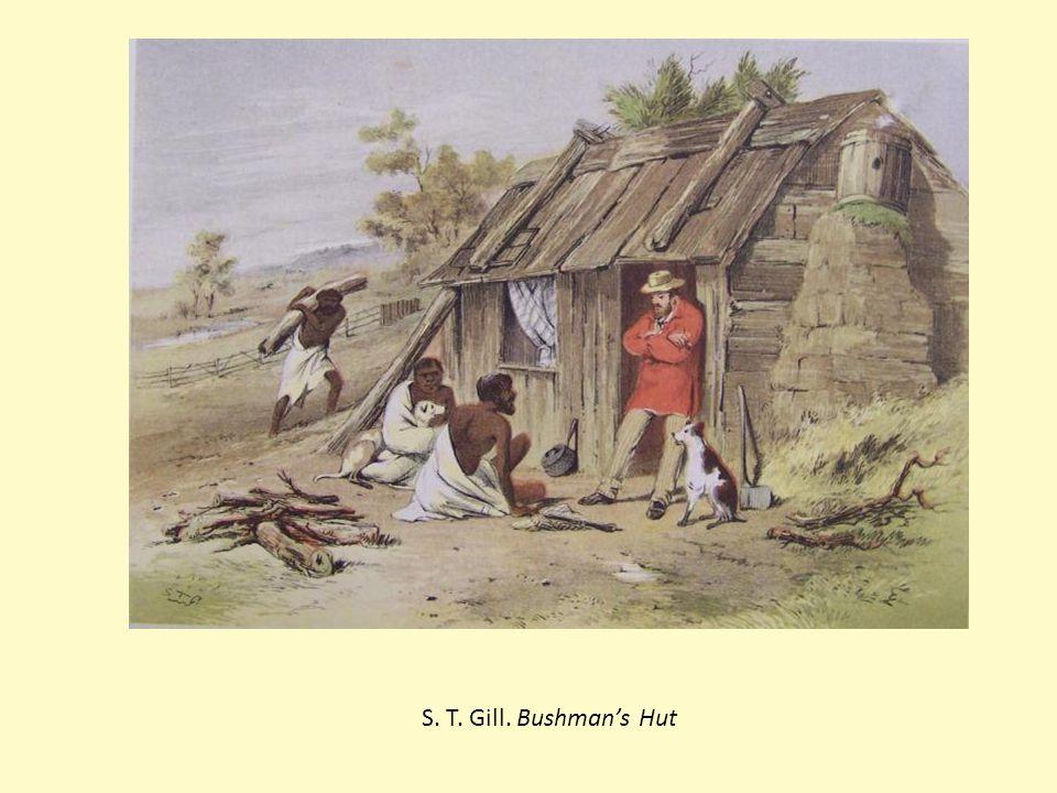 S. T. Gill. Bushman's Hut