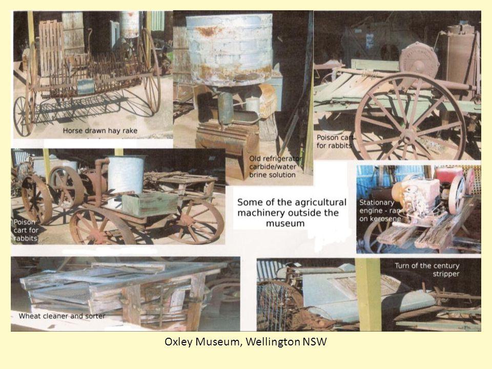 Oxley Museum, Wellington NSW