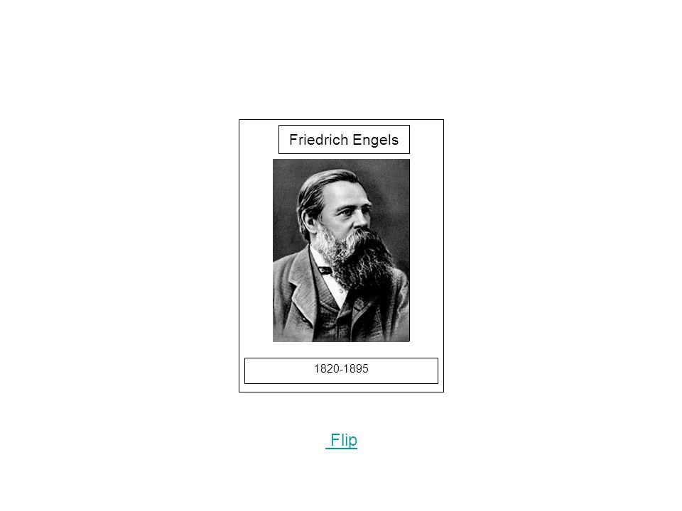 1820-1895 Flip Friedrich Engels