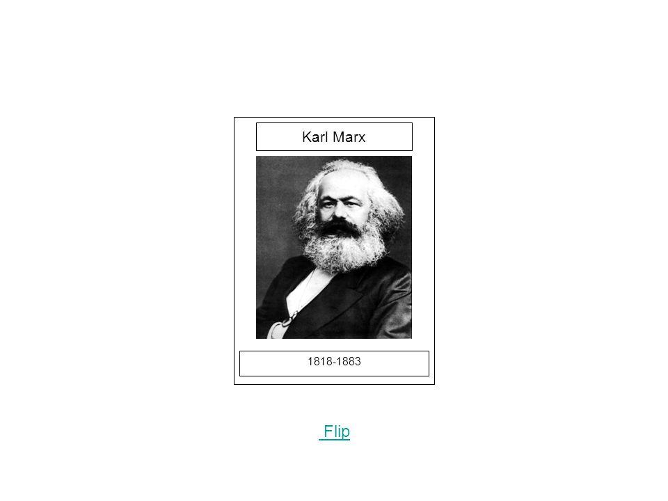 1818-1883 Flip Karl Marx