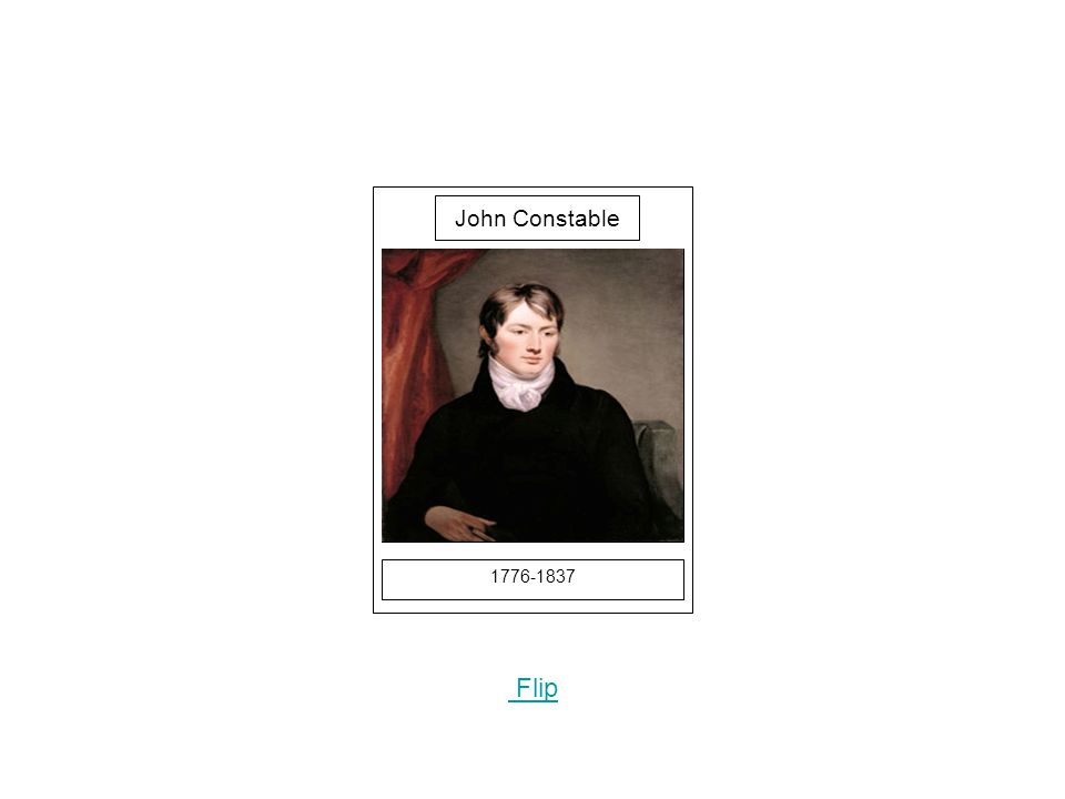 1776-1837 Picture Flip John Constable