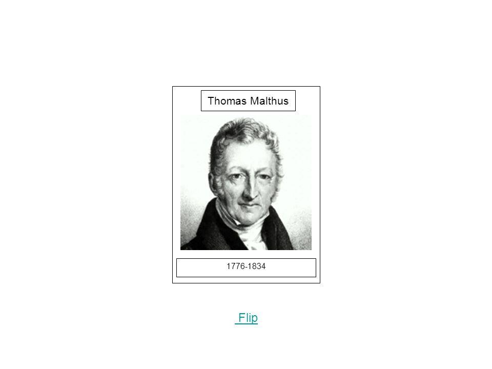 1776-1834 Picture Flip Thomas Malthus