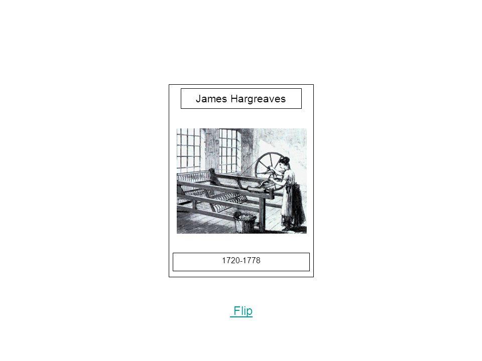 1720-1778 Flip James Hargreaves