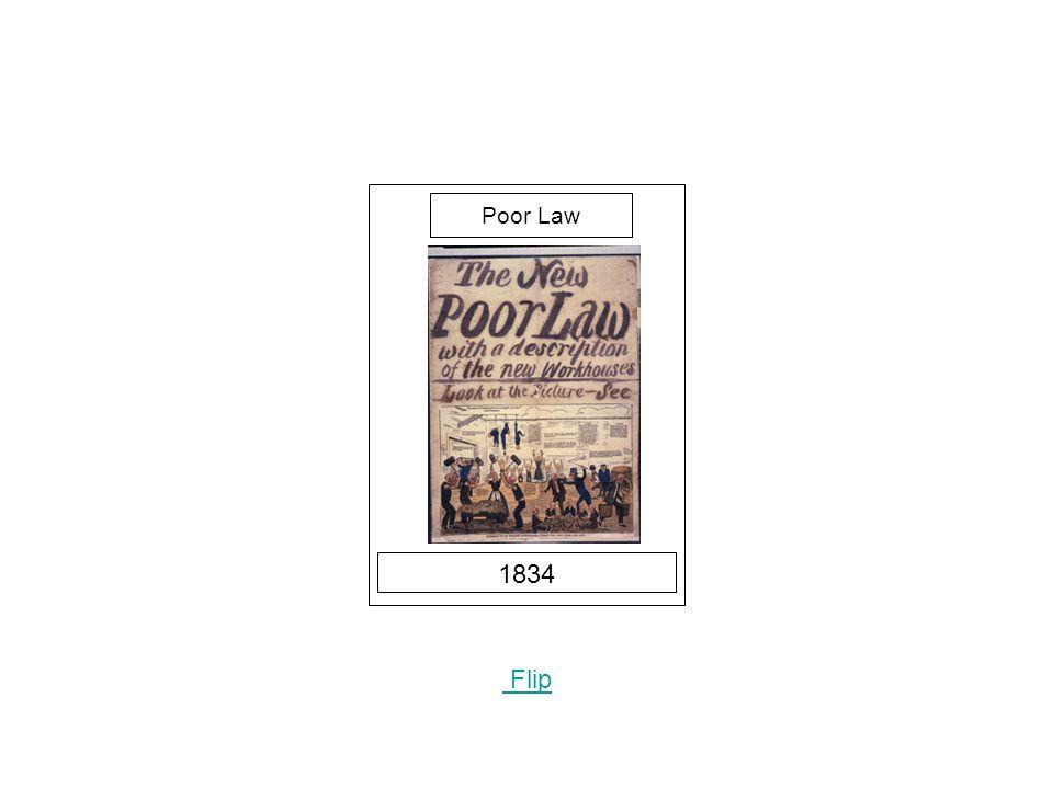 1834 Flip Poor Law