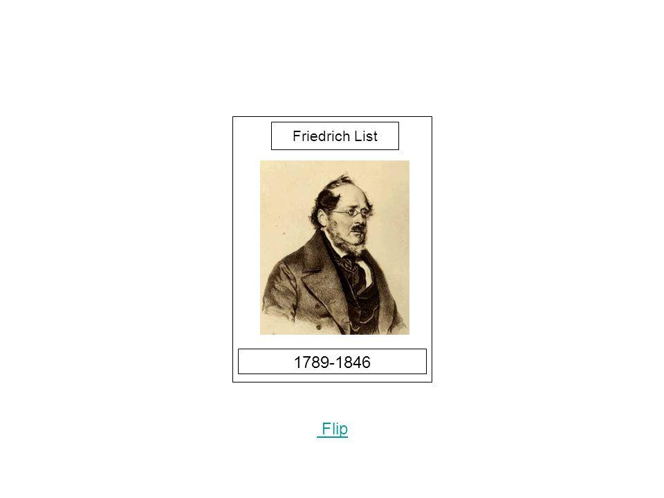 1789-1846 Flip Friedrich List