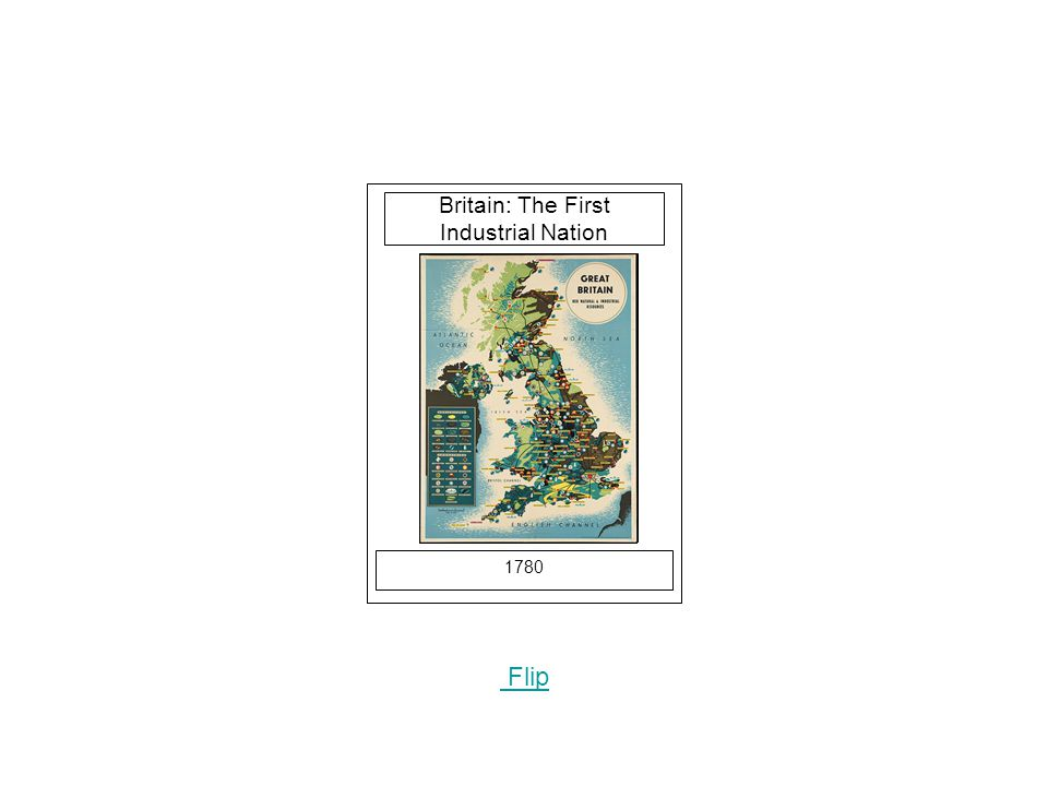 1780 Flip Britain: The First Industrial Nation