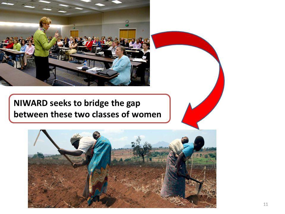 11 NIWARD seeks to bridge the gap between these two classes of women