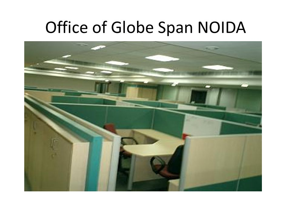 Office of Globe Span NOIDA