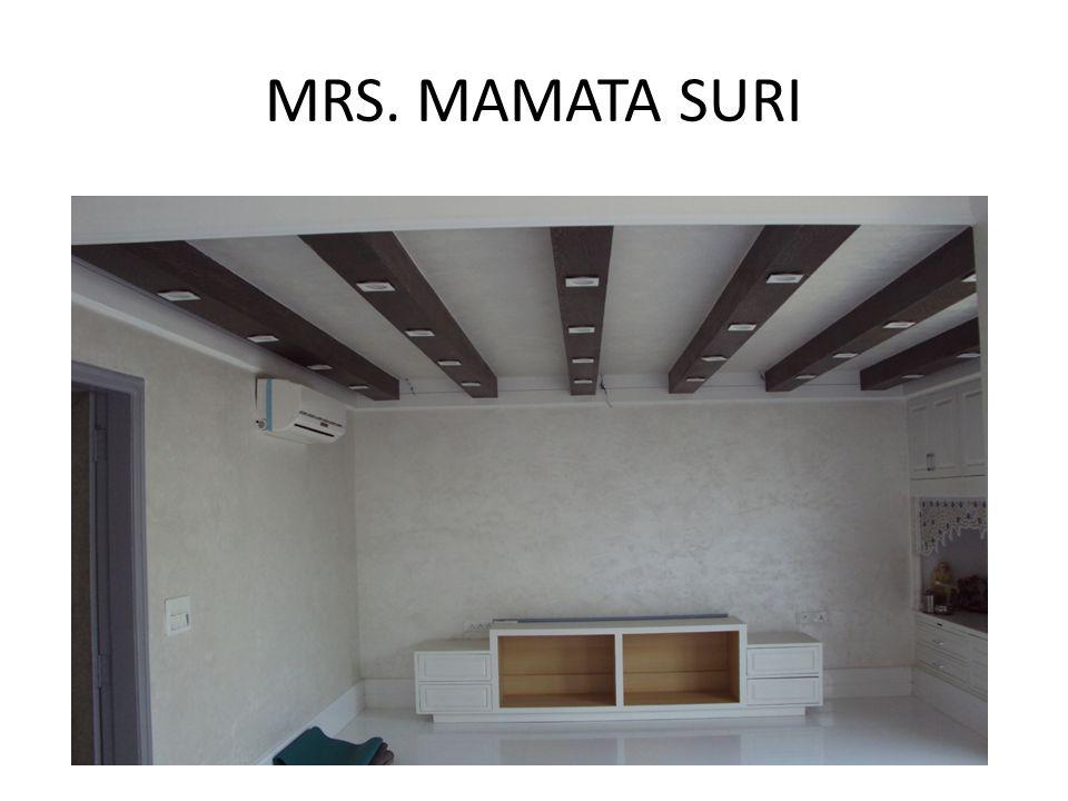 MRS. MAMATA SURI