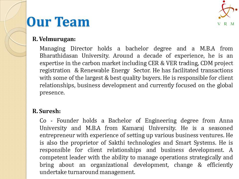 Our Team R.