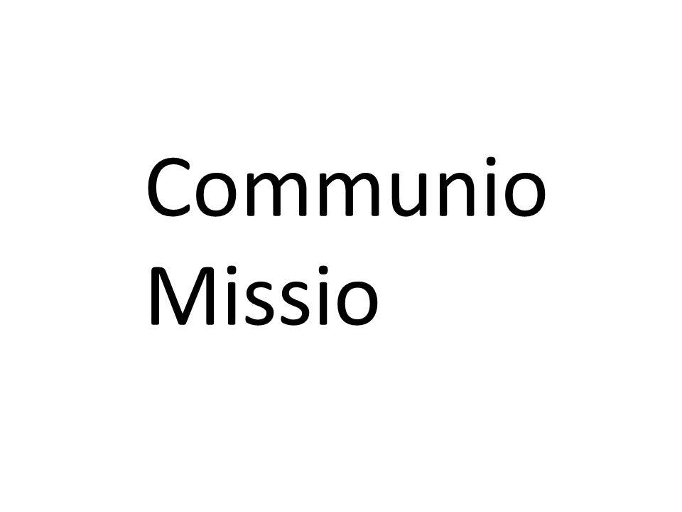 Communio Missio