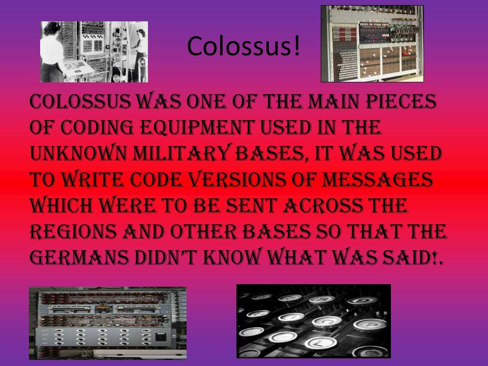 Colossus.