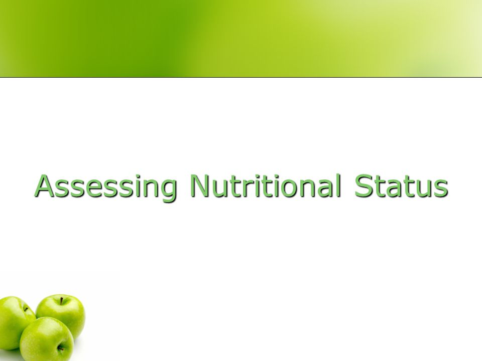 Factors Impacting Nutritional Status in the Elderly