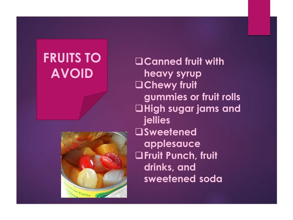 Fruits The Good Stuff.
