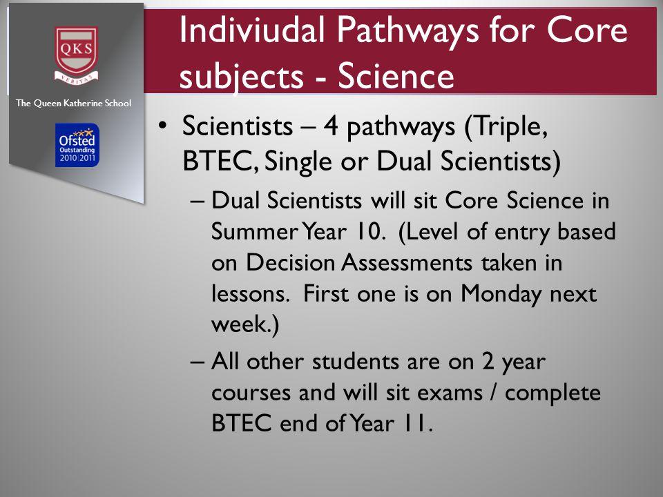 Outstanding BTEC Results - >50% distinctions / dist *'s The Queen Katherine School