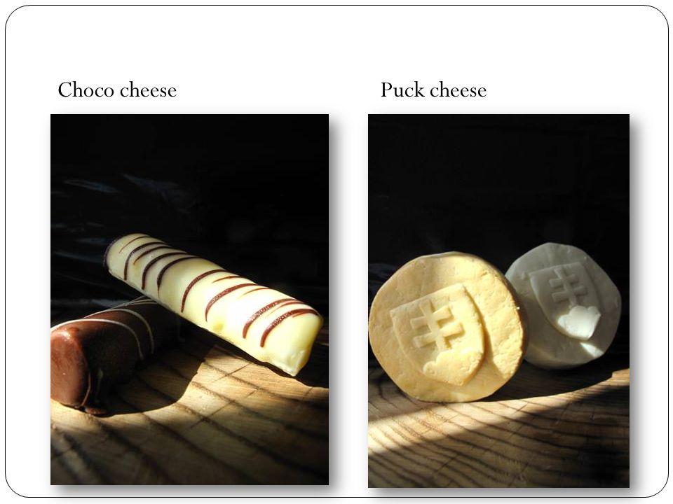 Choco cheesePuck cheese