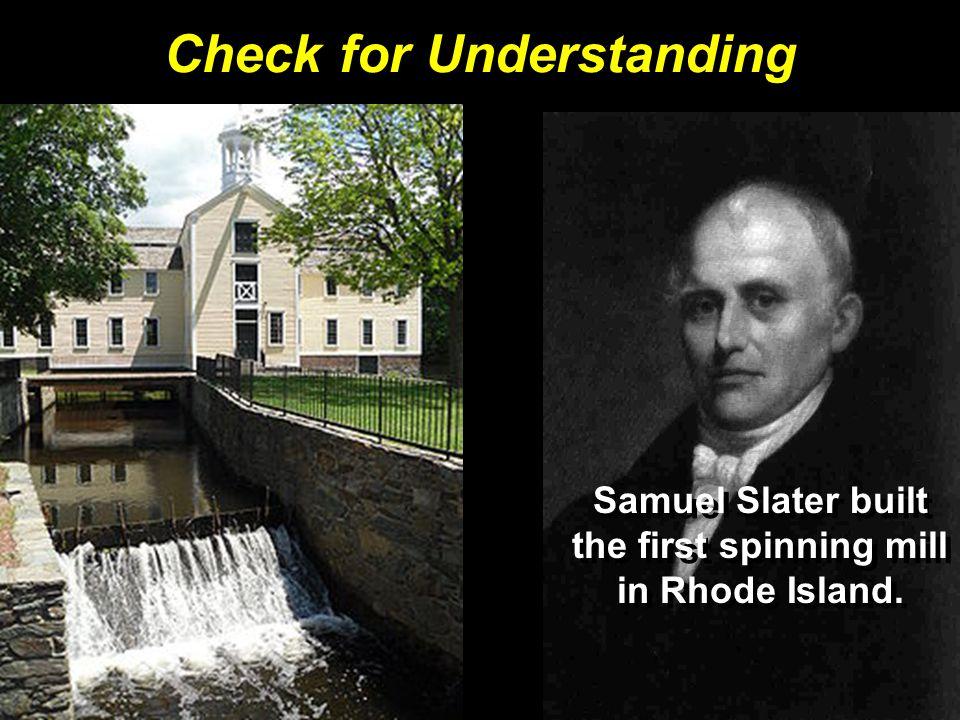 Who was Samuel Slater.
