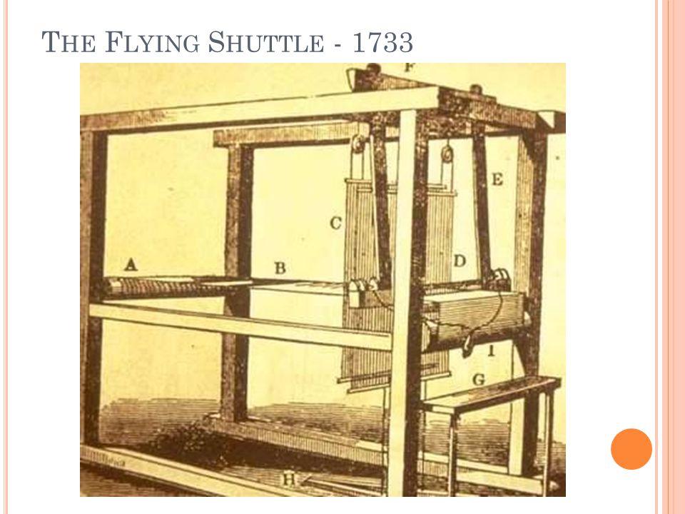 T HE F LYING S HUTTLE - 1733