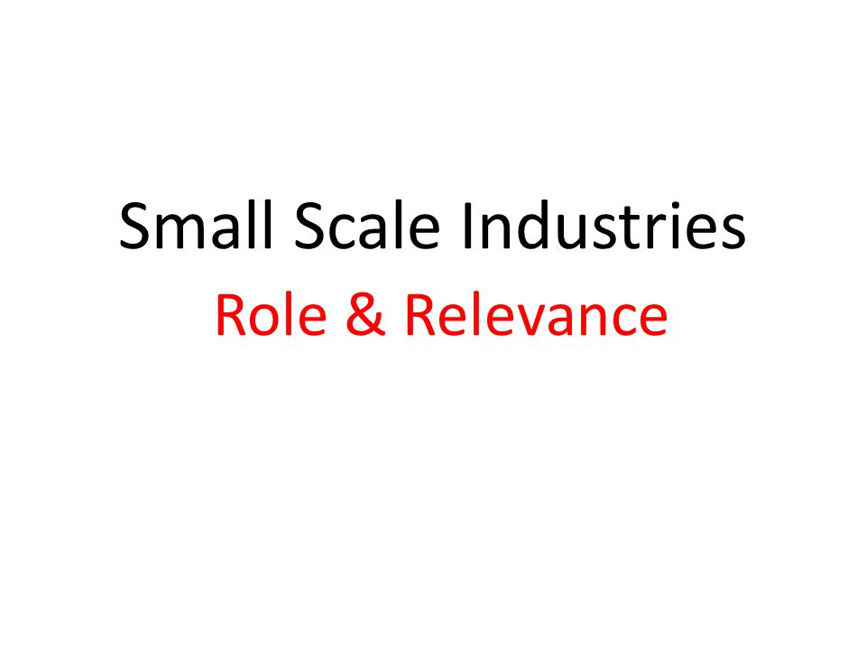 Rationale behind SSI's and Social Enterprises or Objective