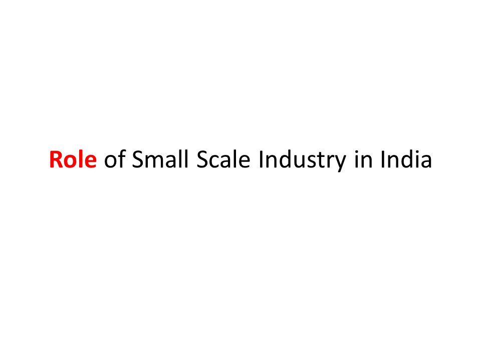 Large Scope for Employment: The small-scale industries provide large scope for employment on a massive scale.