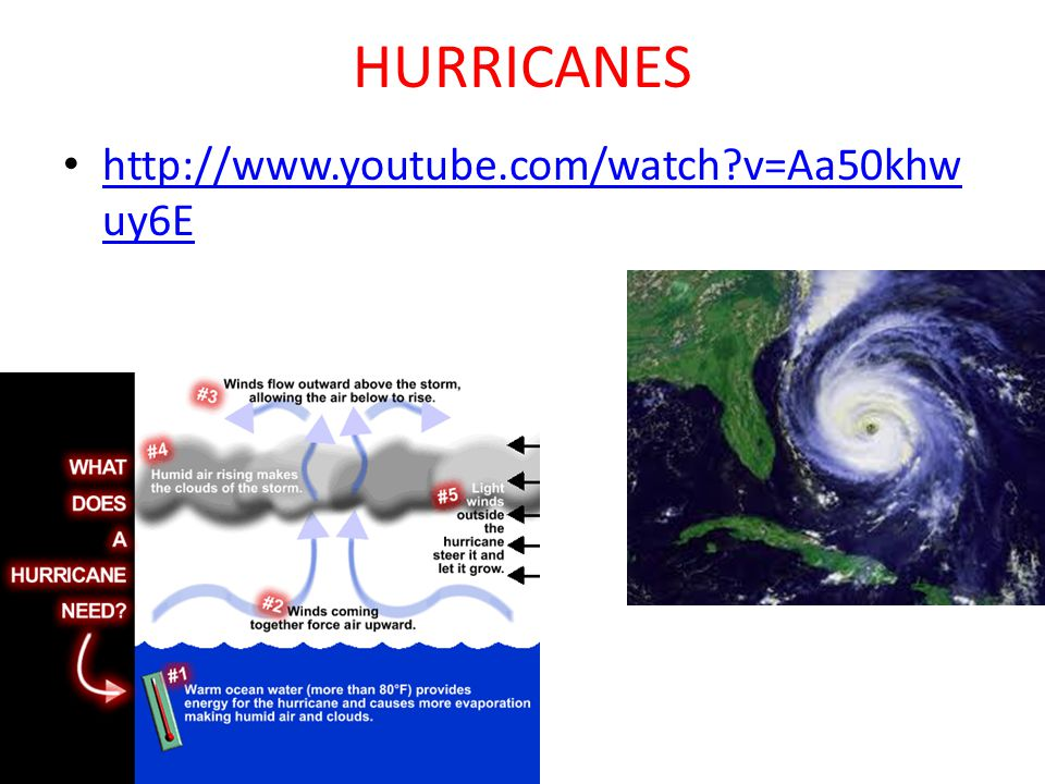 HURRICANES http://www.youtube.com/watch?v=Aa50khw uy6E http://www.youtube.com/watch?v=Aa50khw uy6E