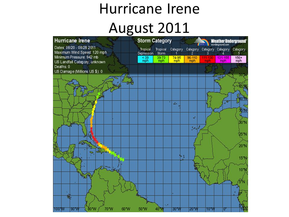 Hurricane Irene August 2011