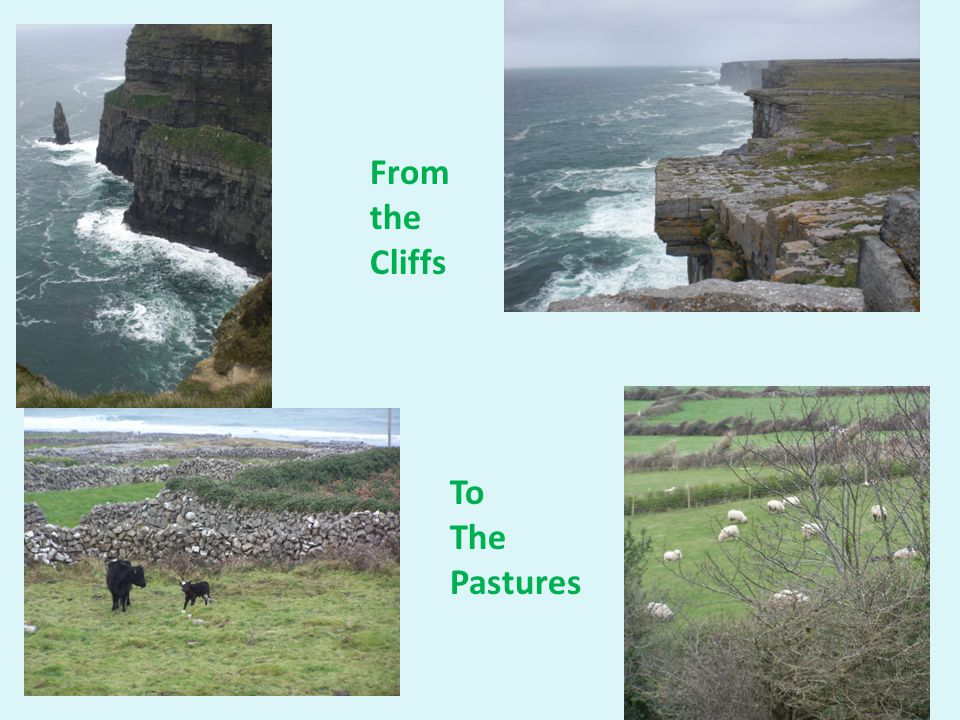 From the Cliffs To The Pastures