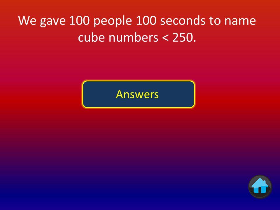 AnswerPoints I =185 V =580 X =1071 L =5031 C =10042 D =5004 M =100015