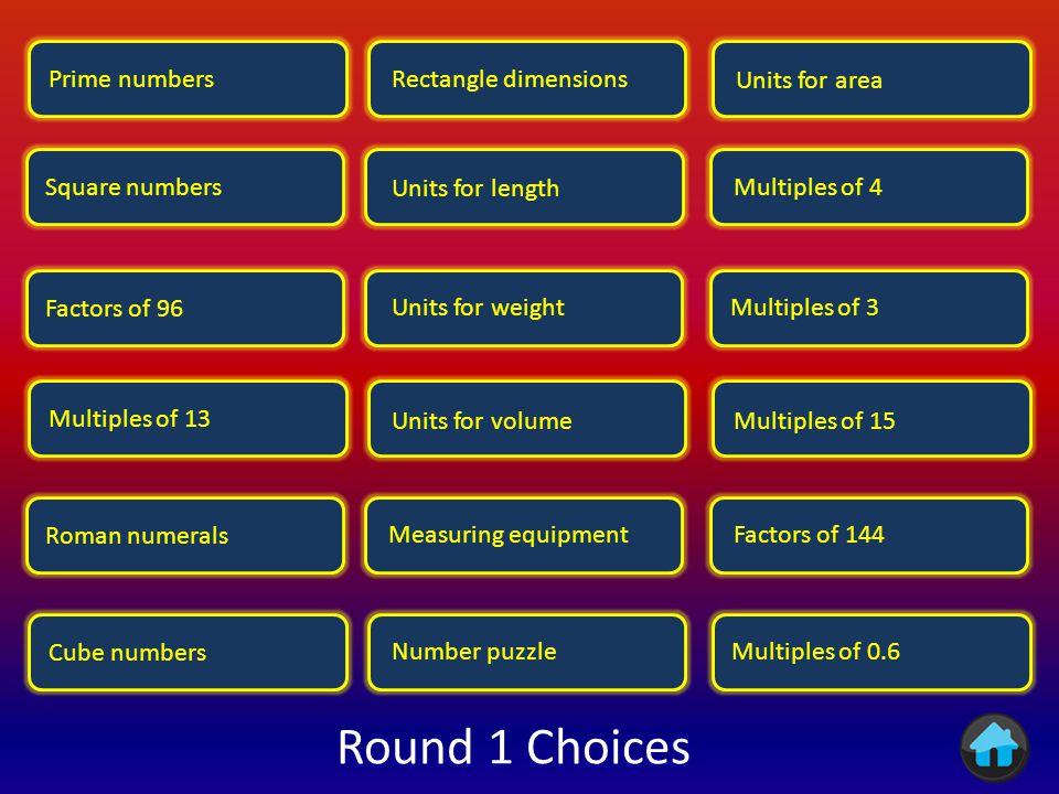 Round 1 Round 2 Finish
