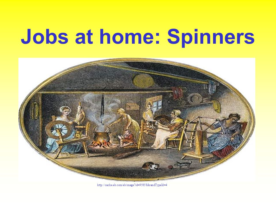 Jobs at home: Spinners http://cache.eb.com/eb/image id=95658&rendTypeId=4