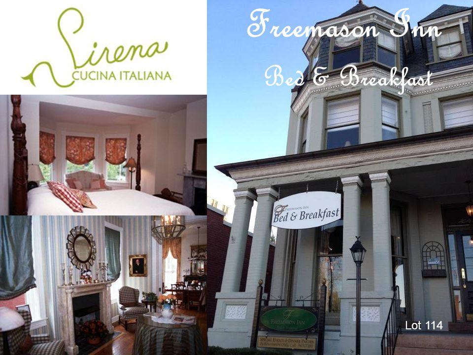 Freemason Inn Bed & Breakfast Lot 114