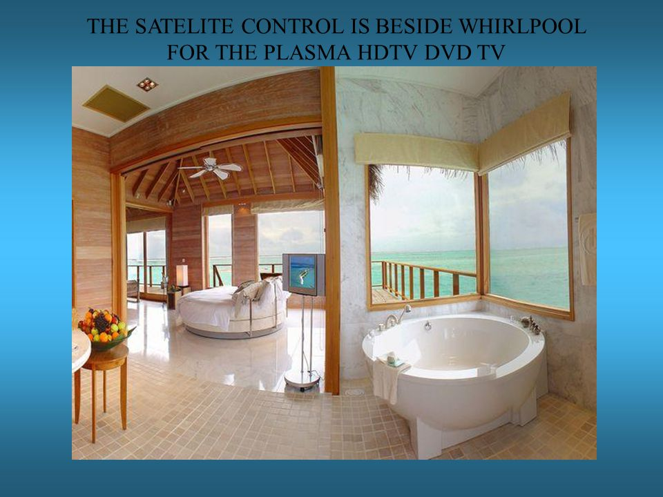 THE SATELITE CONTROL IS BESIDE WHIRLPOOL FOR THE PLASMA HDTV DVD TV