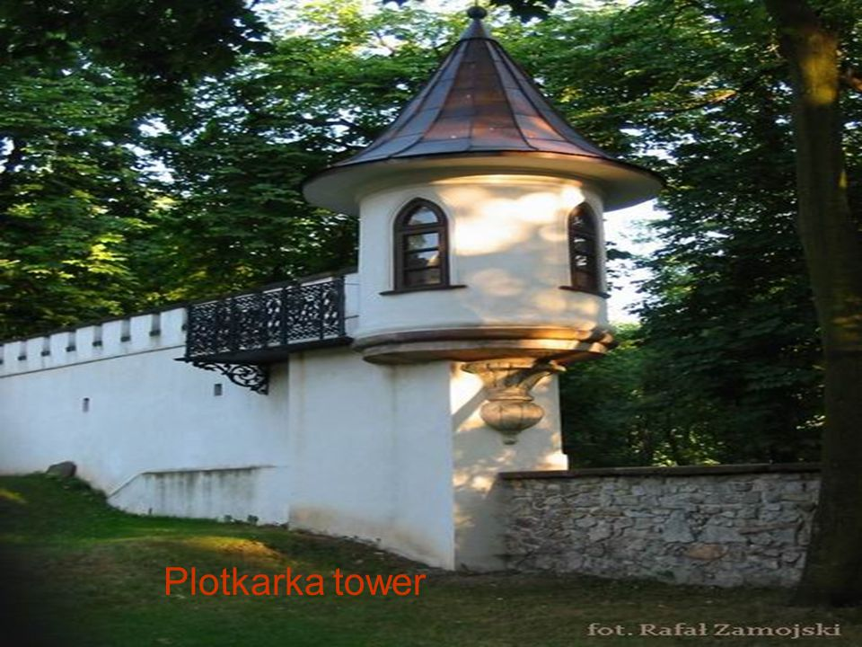 17th-century church and monastery at Karczowka hill